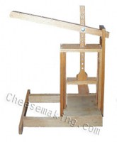 Dutch-Style Cheese Press