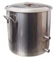 34 quart (8 1/2 gallon) kettle w/Stainless Valve